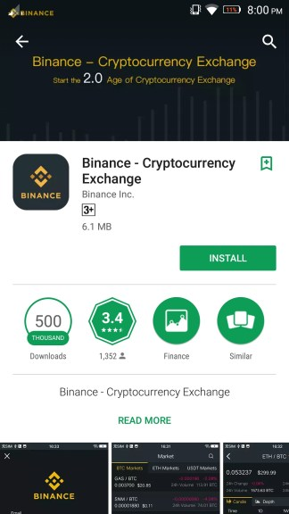 How to use Binance app to buy and sell Bitcons