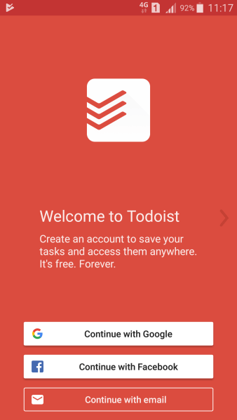 Todoist Welcome