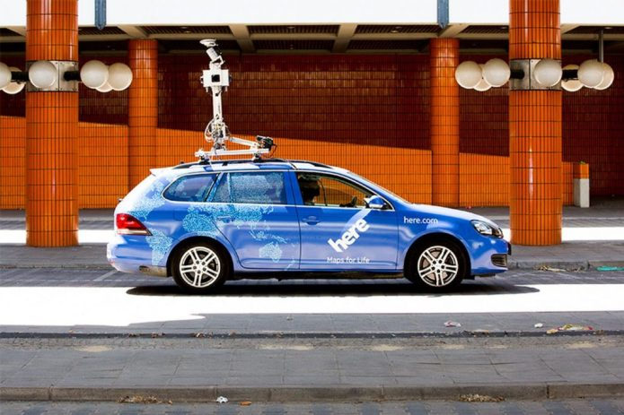 """Mapping Company """"HERE"""" Spends $767 Million in R&D For Driverless Cars"""