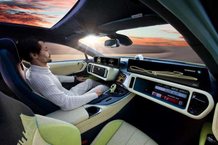 Samsung Electronics Reveals Its First Series Of Driverless Car Entertainment Solutions