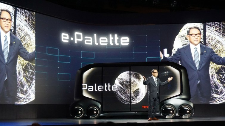 Toyota Reveals The Future Of Mobile Business With The E-Palette Concept