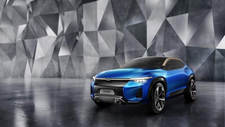 Looking To Kill Time On The Go? Now Play Video Games On All New Autonomous SUV Concept by Chery
