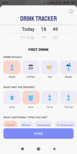 meal tracking app