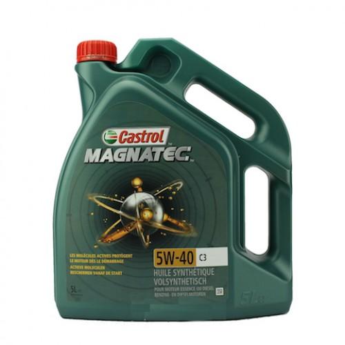 Castrol 5w40 Magnatec c3 5 Liter voor €36,-