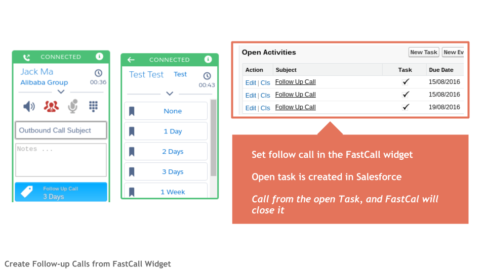 Call Result Can Update any Salesforce Field on any Object