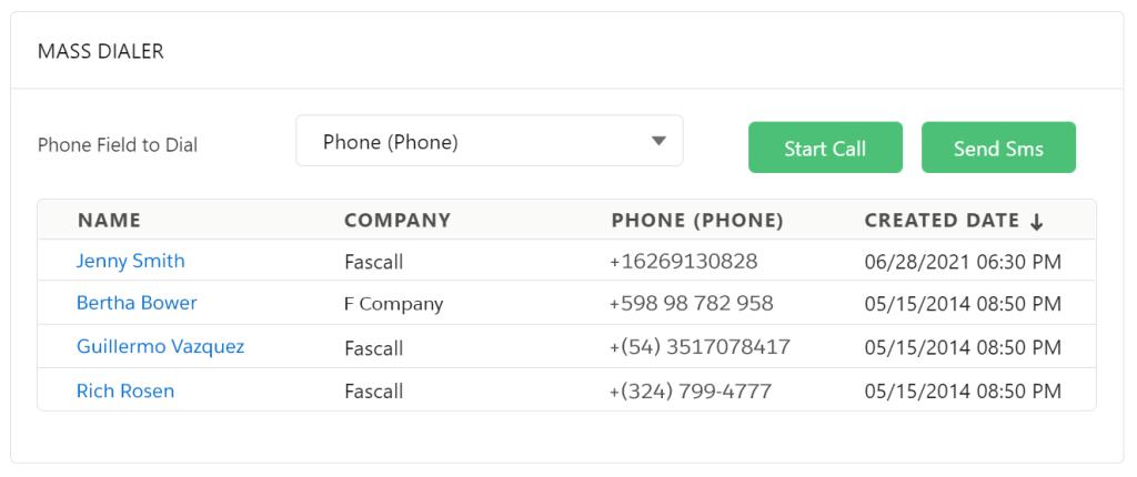 Start Call