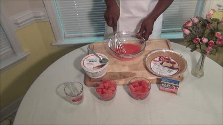 Watermelon Pie a Refreshing Dessert