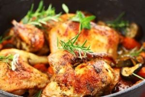 Grilled Ginger Chicken Recipe with Yogurt