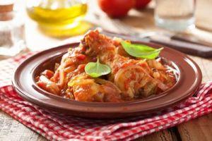 Baked Chicken Italian Style