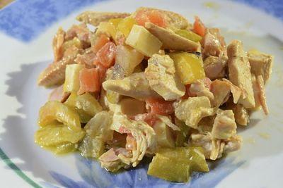 Grapefruit Chicken Salad Recipe
