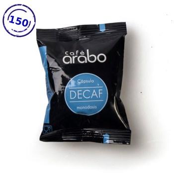 Caja de 150 cápsulas de café arabo - Descafeinado