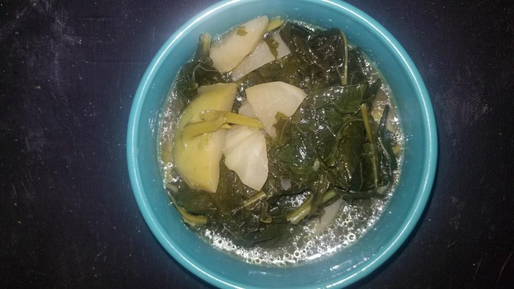 instant pot kohlrabi curry