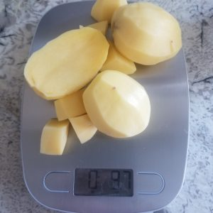 aloo measured