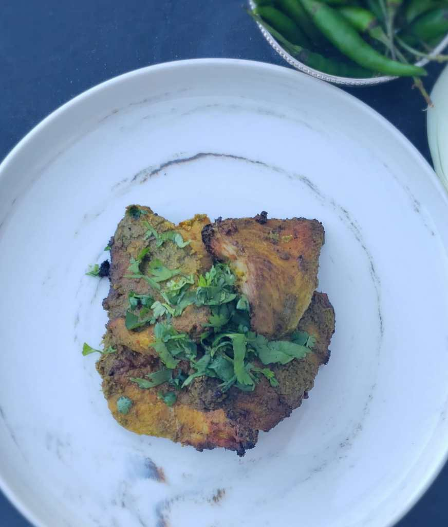 air fryer fish tikka