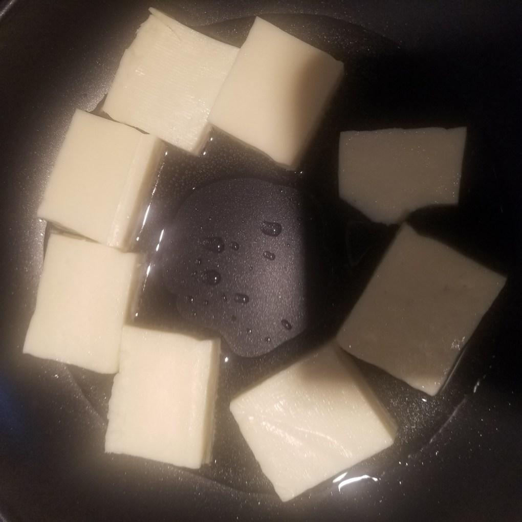 saute paneer cubes