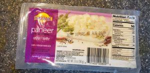 paneer packet example