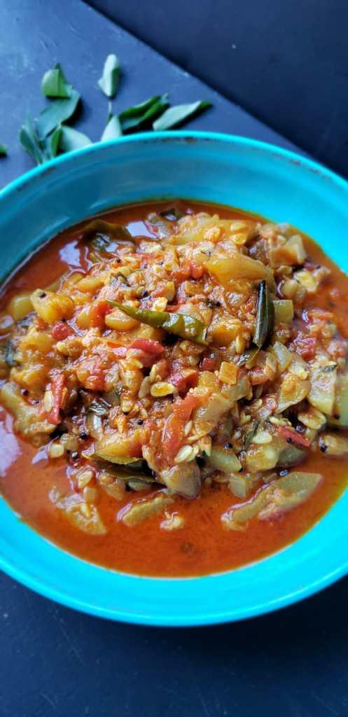 instant pot lauki curry