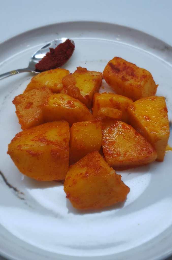 instant pot spicy potatoes