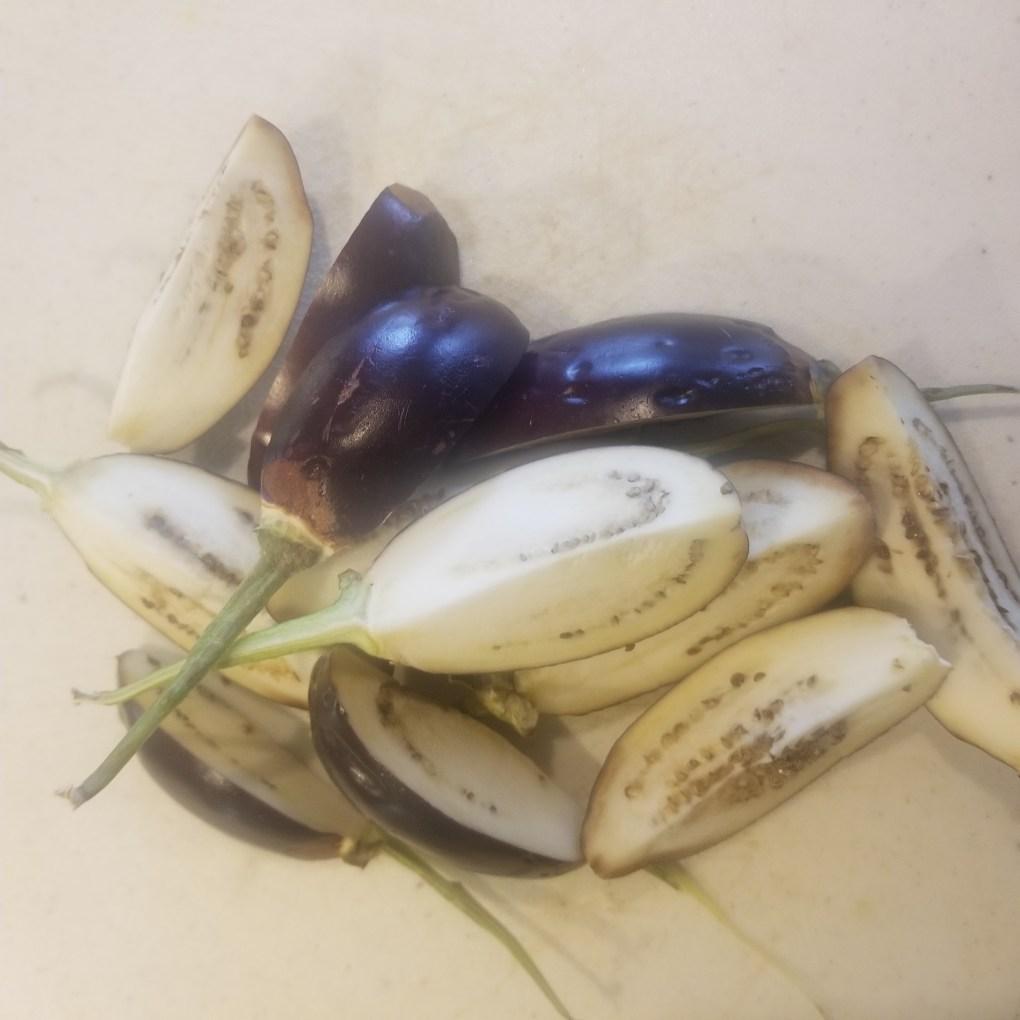 eggplant/ baingan