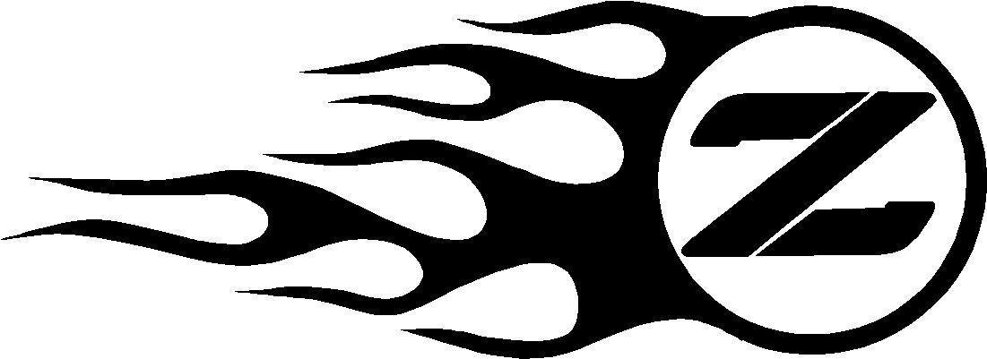 nissan flames decal sticker