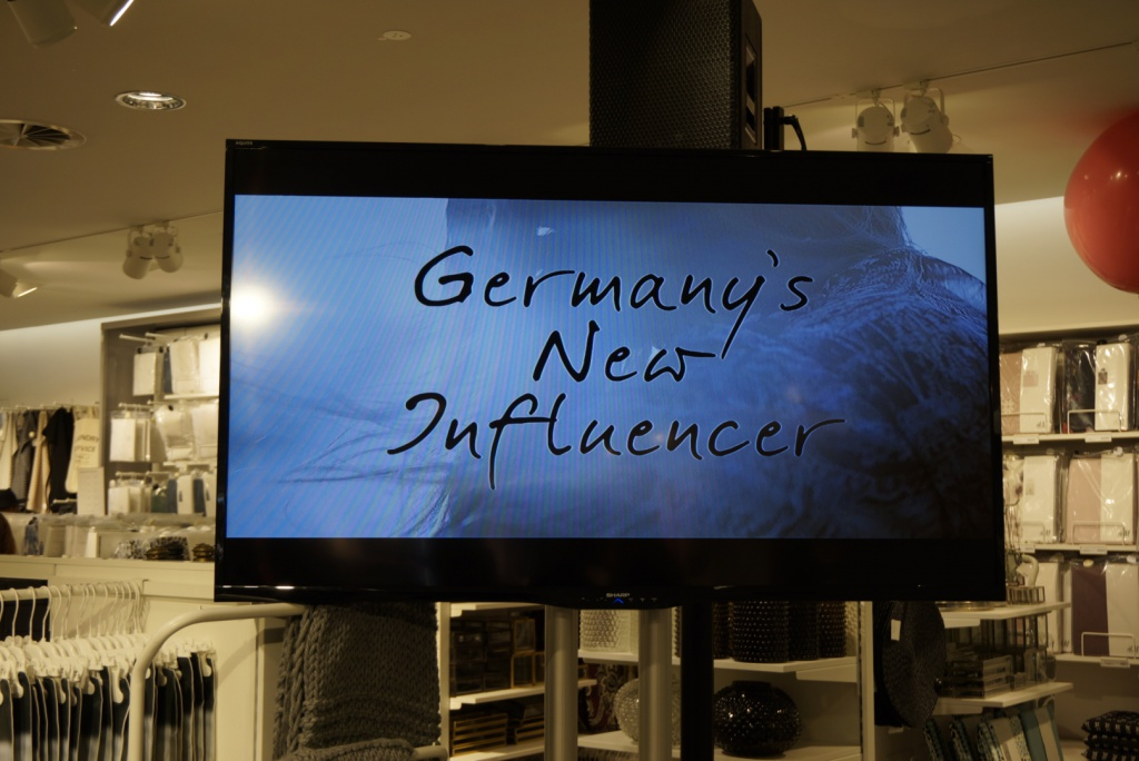 Germany's new influencer Grazia H&M