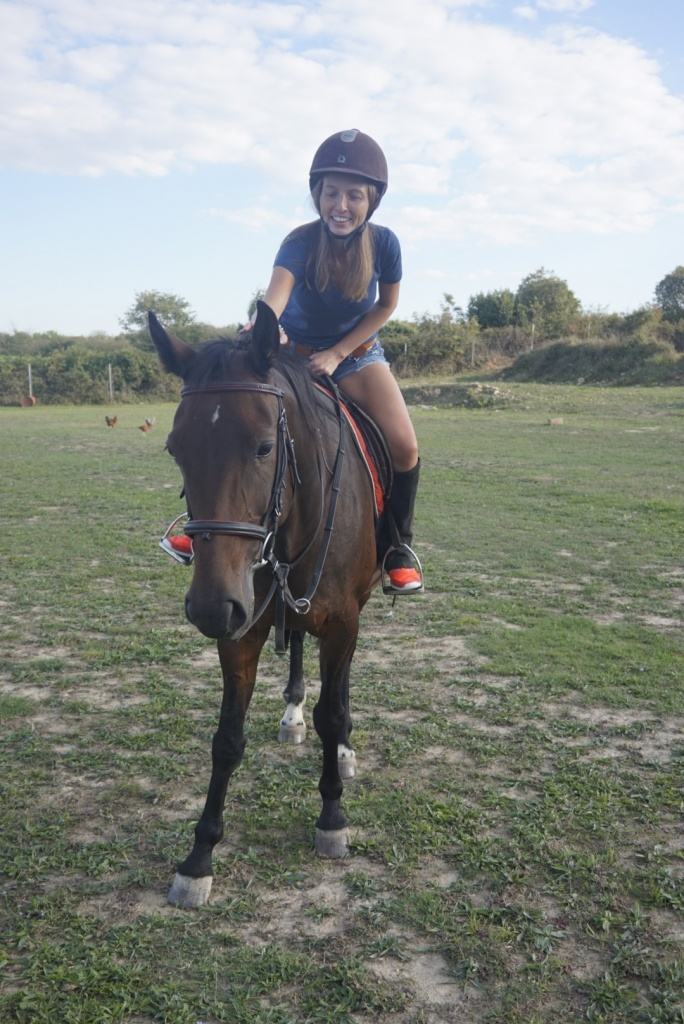 Horse riding with Zzuum