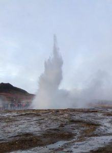 Strokkur Geyser, Iceland, Attraction, Sightseeing, Geysir, Geyser