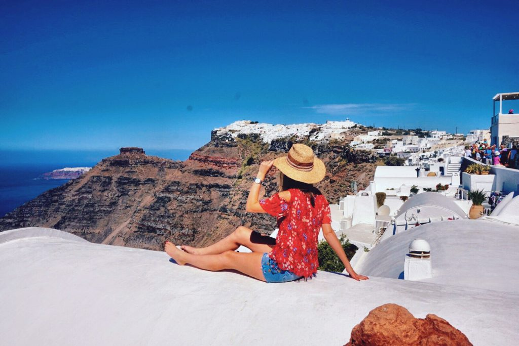 Fasten Ur Seatbelts, Santorini, Greece, Oia, Fira