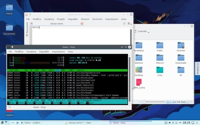 Plasma Desktop Applications