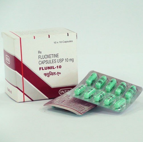 Prozac (Fluoxetine) - Antidepressant