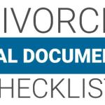 Divorce Legal Document Checklist Cover