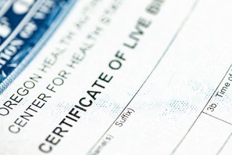 Storing Vital Records and Birth Certificates