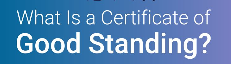What is Certificate of Good Standing Infographic