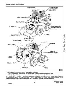 2008 Bobcat T180 Compact Track Loader Service Repair