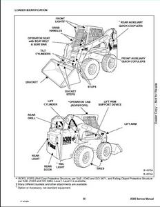 Bobcat 463 Skid Steer Loader Service Repair Workshop