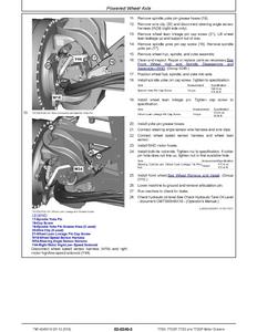 John Deere 770G 770GP 772G 772GP (SN. F680878- L700954
