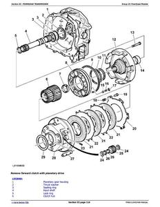 John Deere 265 275 & 285 Rotary Disk Mowers Diagnostic and