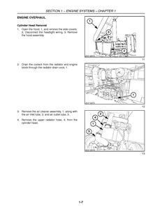 New Holland 3415 Tractor Service Repair Manual