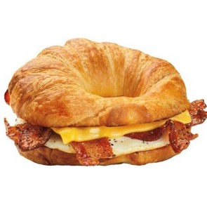 bacon egg and cheese bagel calories dunkin donuts