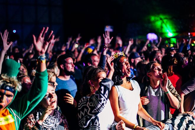 Pangea Festival Crowd