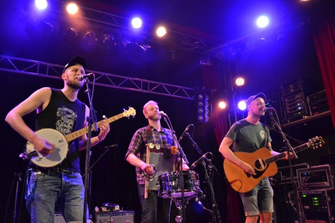 Henry Parker and the Lowered Lids 2, live at Lido Jul 16, (c) Dörte Heilewelt