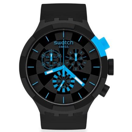 Big Bold 47 mm CHECKPOINT BLUE watch