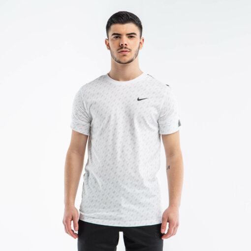 Sportswear Repeat Print L White / Black