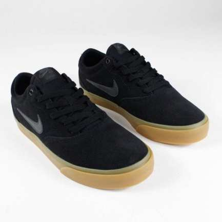 SB Charge Suede- Black / Anthracite-Black