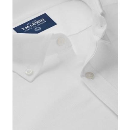 T.M Lewin Oxford Slim Fit White Shirt