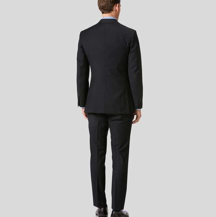 Twill Business Suit - Black