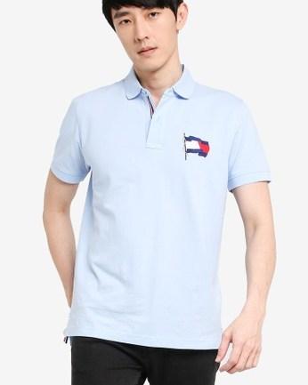 Wavy Flag Regular Polo