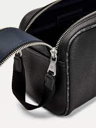 TH Monogram Leather Washbag