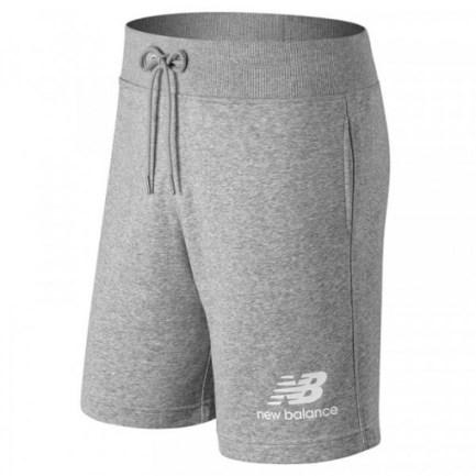 Men's Essential Stacked Logo Short Athletic Grey