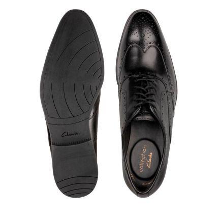 Bampton Rhodes Black Leather